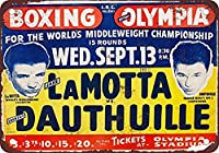 Boxing In Detroit ティンサイン ポスター ン サイン プレート ブリキ看板 ホーム バーために