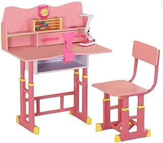 RAN-KID-DS-1001 Kids' Study Table, Pink - 70x70x50cm