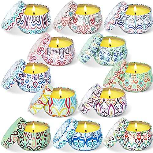 STRN Citronella Scented Candles, Summer Soy Wax...