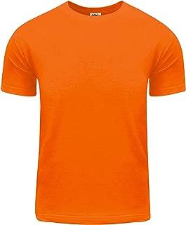 Shaka Wear Men's Active Premium Cotton Basic Short Sleeve T Shirt 5.8oz S~5XL