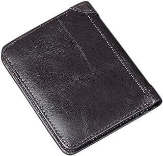 Fa.Volmer/® Porte-Monnaie /étui sans Pince /à Billets Porte-Cartes en Cuir avec Protection Anti-RFID Portefeuille pour Homme Typ #NoClip-VO20