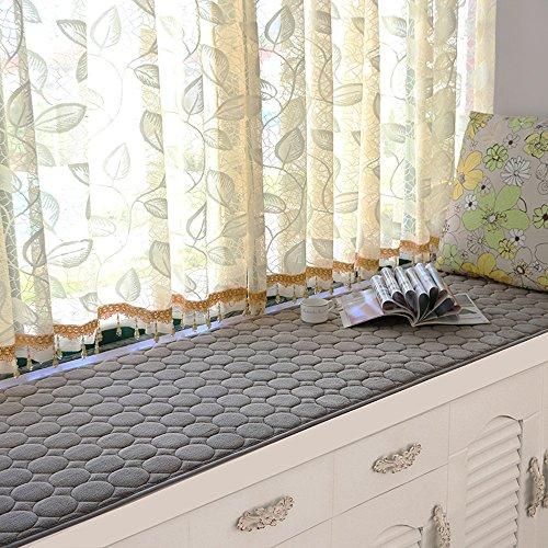 Good thing tapis Tapis de pendule modernes simples Tapis de fenêtre Matelas éponge d'été Coussins Coin flottant, multi-taille (taille : 80 * 160cm)