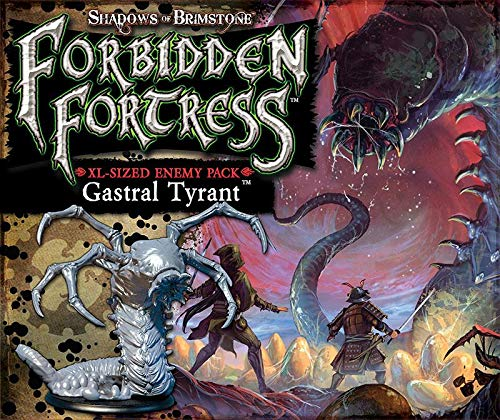 Flying Frog Productions Shadows of Brimstone: Gastral Tyrant - XL Enemy Pack - English