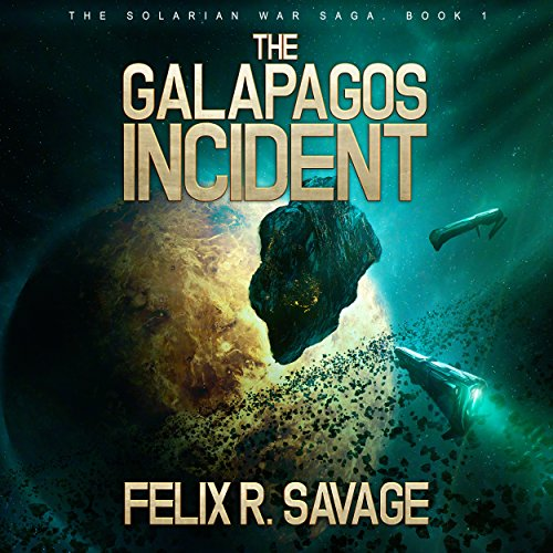 The Galapagos Incident audiobook cover art