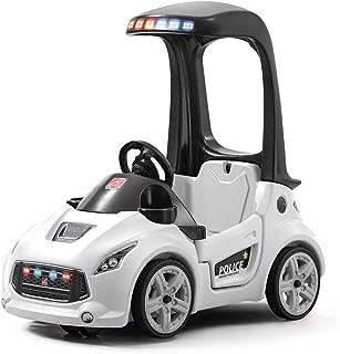 Step2 Turbo Coupe Interceptor Ride On Police Car