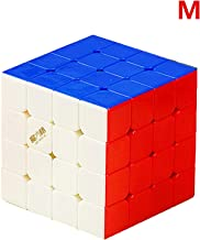 LiangCuber Qiyi Wuque Mini M 4x4 Speed Cube Stickerless QiYi MoFangGe Mini Wuque M 4x4x4 Magic Cube Magnetic Puzzle 60mm