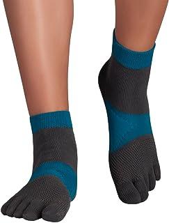 MTS Explorer | Calcetines de Dedos para Correr con Antideslizante y Arco de Soporte, con acción antimicrobiana
