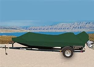 CRV-SBU 7 oz Solution Dyed Polyester Material Custom Exact FIT Boat Cover BASS Tracker/Tracker/SUNTRACKER Targa V-18 WT W/ 12 Volt Factory TM 2011-2018
