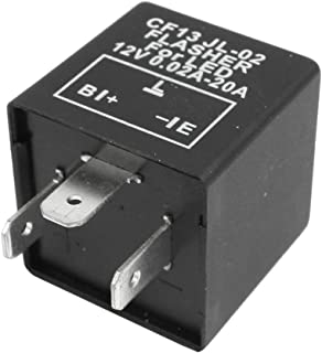 Amico Car Vehicle 3 Pin LED Turn Blinker Light Flasher Relay 12V DC 0.02-20A
