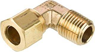 Brass Pack of 20 1//2 Barb Tube x 1//4 Male Thread Parker Hannifin 229-8-4-pk20 Dubl-Barb Male Elbow Fitting