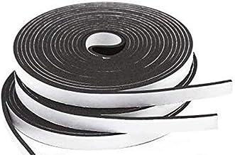 3 Stks Hoge Dichtheid Seal Strip Schuim Plakband, Weerstrippen For Deur En Raamisolatie Tape, 1,5 Cm X 3 Mm Dik X 5 M L L
