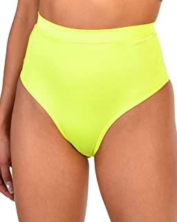 Electro High Waisted Booty Shorts Brief Pin-Up Style...