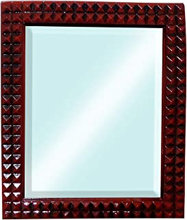 Baal Decorative Wall Hanging Mirror for Bedroom Bathroom and Living Room for Home 80 Gram Pack of 1 (M6)