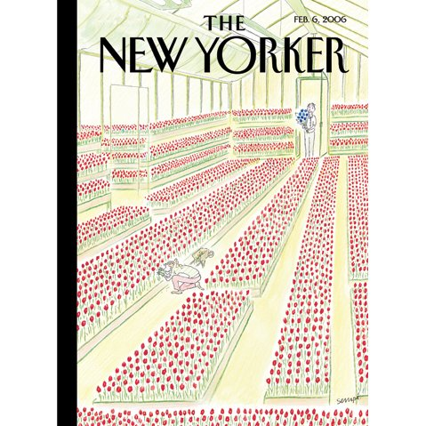 The New Yorker (Feb. 6, 2006) cover art