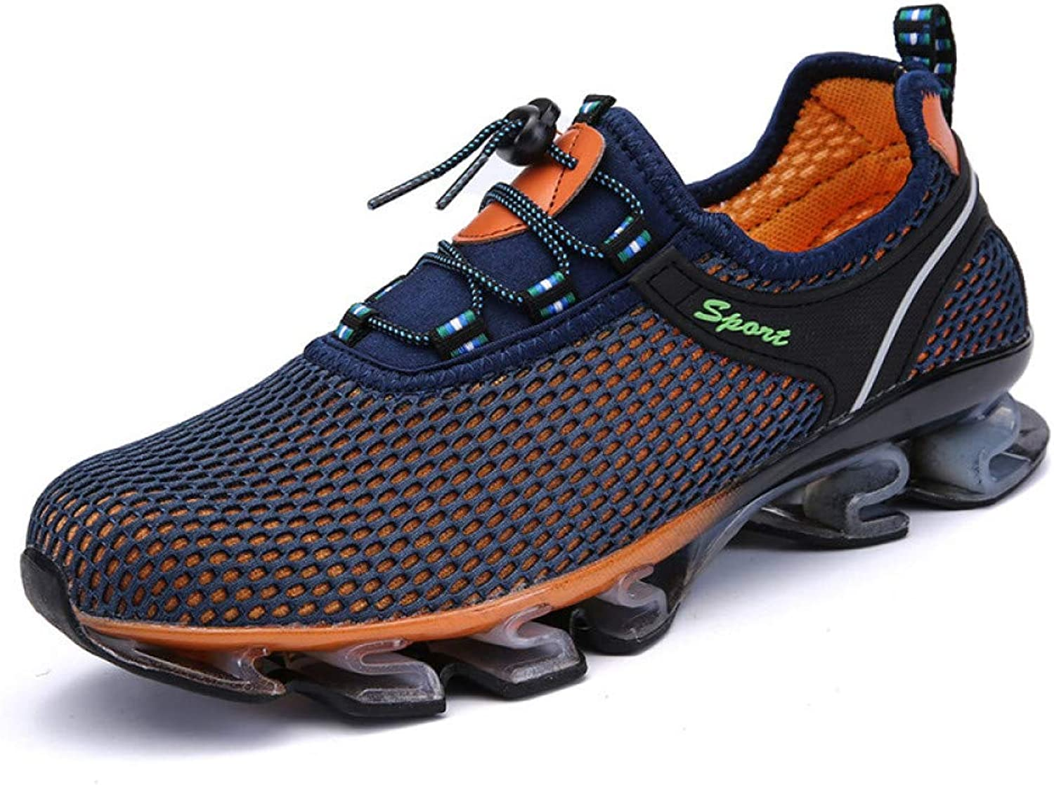JIAODANBO New Running shoes Sport shoes Fashion Casual Breathable Mesh Men'S shoes