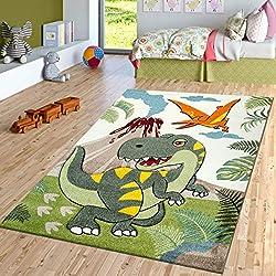 7. Paco Home Jurrasic World T-Rex Dinosaur Rug