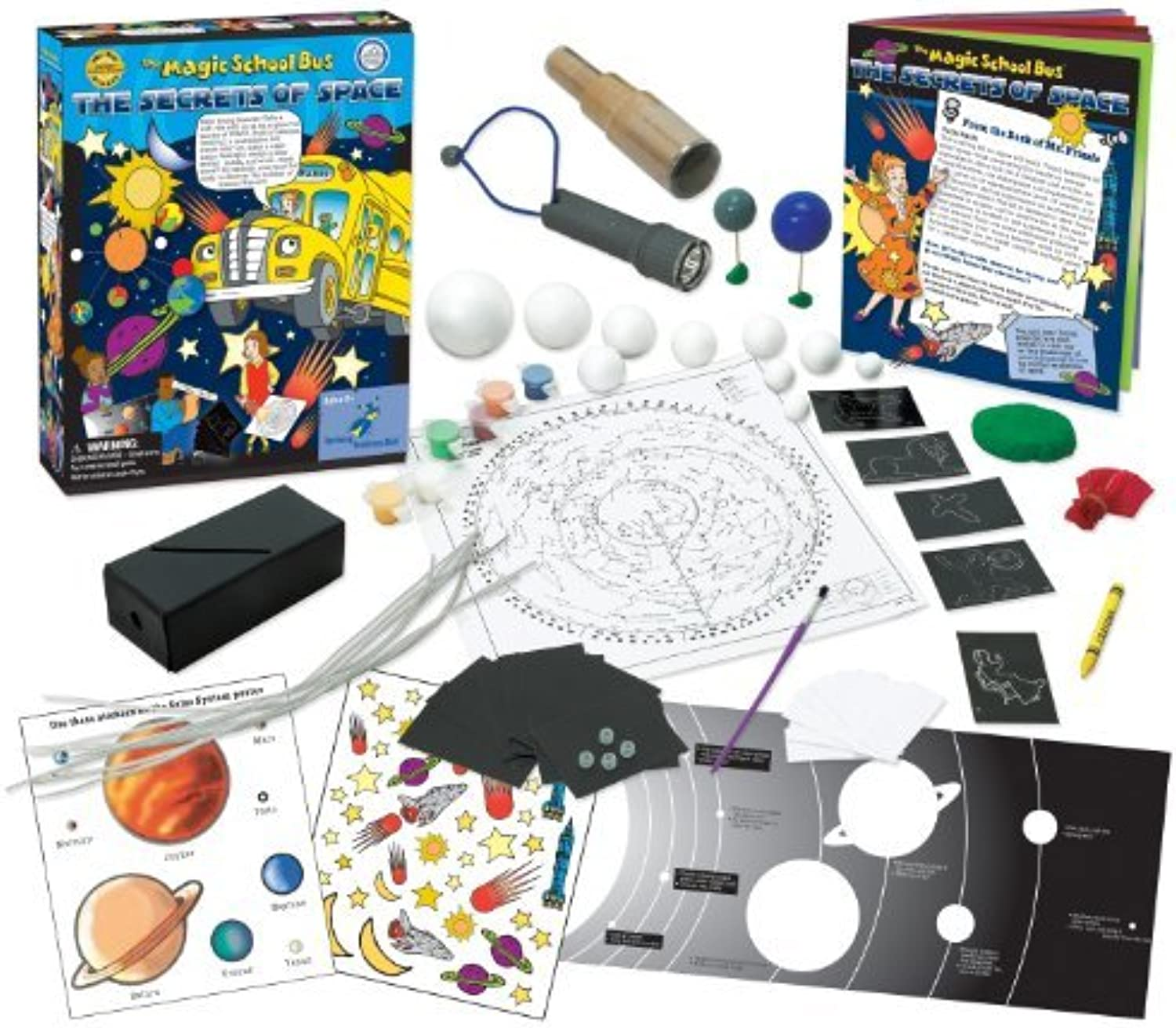 The Magic School Bus Secrets of Space by The Young Scientists Club