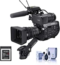 Sony PXW-FS7 II 4K XDCAM Super 35 Camcorder Kit with 18-110mm Zoom Lens - with Sony G Series 120GB XQD Memory Card, Cleani...