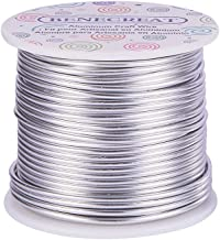 BENECREAT 12 17 18 Gauge Aluminum Wire (12 Gauge,100FT) Anodized Jewelry Craft Making Beading Floral Colored Aluminum Craf...