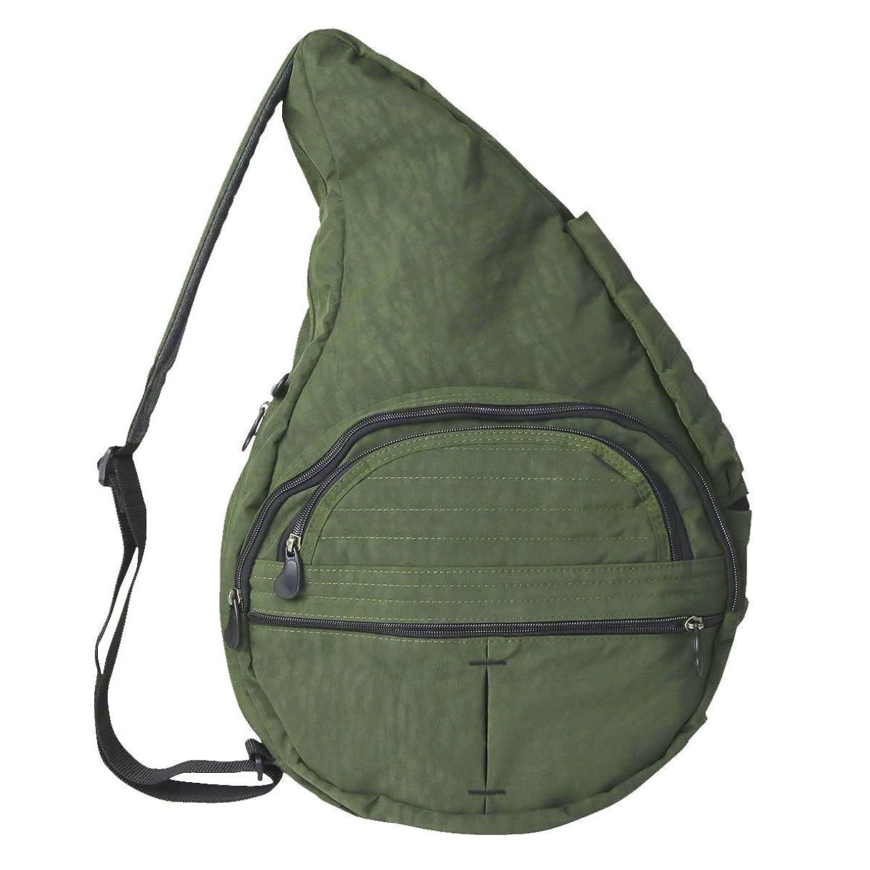 警報ビジョン家具[ヘルシーバックバッグ]HEALTHY BACK BAG Big bag テクスチャードナイロン Texutured Nylon ボディバッグ 44315 ディープフォレスト/DF
