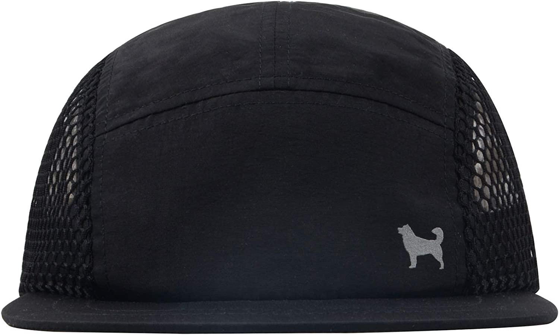 Hatphile Flexible Brim Light Breathable Quick Dry Pocketable Mesh 5 Panel Hat