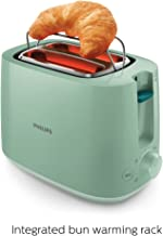 Philips Daily Collection HD2584/60 830-Watt 2-Slice Pop up Toaster (Desert Green)
