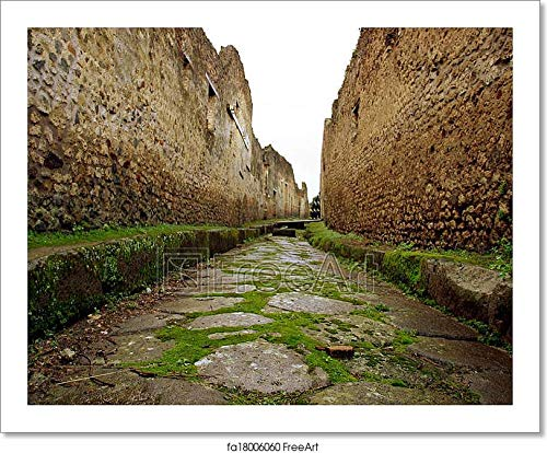 Barewalls Pompeii Italy Paper Print Wall Art (8in. x 10in.)