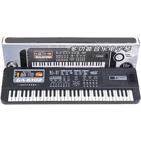 Yissma Teclado electrónico portátil, Teclado de Piano Teclado ...