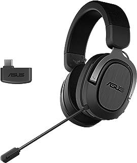 ASUS TUF Gaming H3 Wireless (2.4 GHz Wireless, Virtual 7.1 Surround Sound, Lightweight, Discord Certified Microphone, USB-...