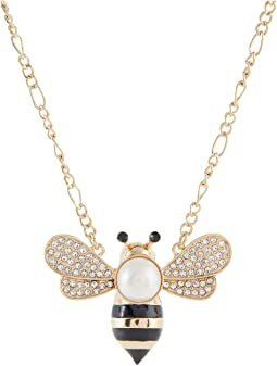 Bee Short Pendant Necklace