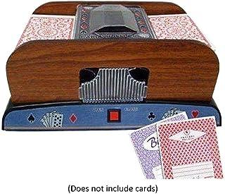 Large Capacity 4 Deck Card Shuffler Automatic Battery Operated Casino Dealer Travel Machine Dispenser Playing Card Shuffler Automaoard Gametic Card Shuffler
