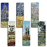 Christian Van Gogh Bookmarks Cards - God is Love (60 Pack)- Bible Scripture Prayer Cards - War Room Decor - Encouragement Gifts - VBS Bible Study Sunday School Baptism Church Camp Stocking Stuffers