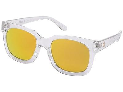 Spy Optic Shandy (Crystal/Gray/Gold Mirror) Fashion Sunglasses