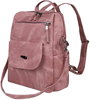 Backpack for Elementary College Women Leather Small Daypacks Purse School Book bags Girls Backpacks