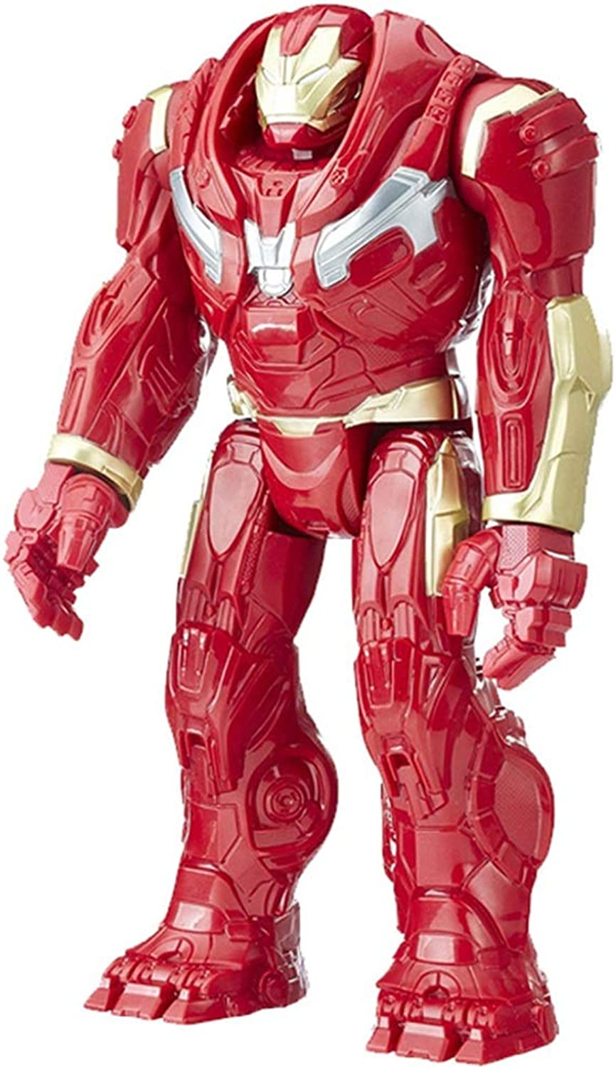 LFMZB Marvel Avengers 3, 12 Inch E1798 Hulkbuster Action Figure Toy,Suitable For Ages 4 And Up  Large Hulkbuster Model Boy Toy