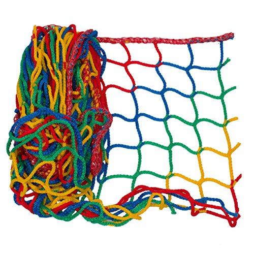Universal Schutznetz in vielen Farben und Größen - Netzhöhe 1,0 Meter (Netzgröße 1,0 x 3,0mtr, 4-farbig)