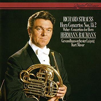 Richard Strauss: Horn Concertos Nos. 1 & 2 / Weber: Concertino For Horn & Orchestra