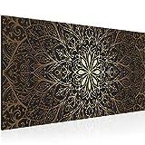 Bilder Mandala Abstrakt Wandbild 100 x 40 cm Vlies -