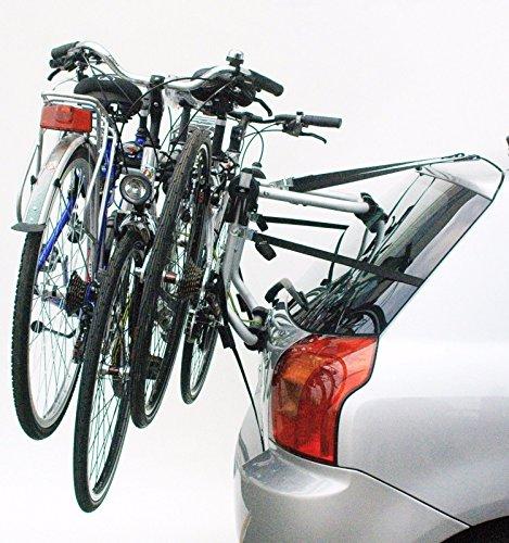 Porta 3 Bicicletas Posterior Portabicicletas Peruzzo para Coche Homologado 6248