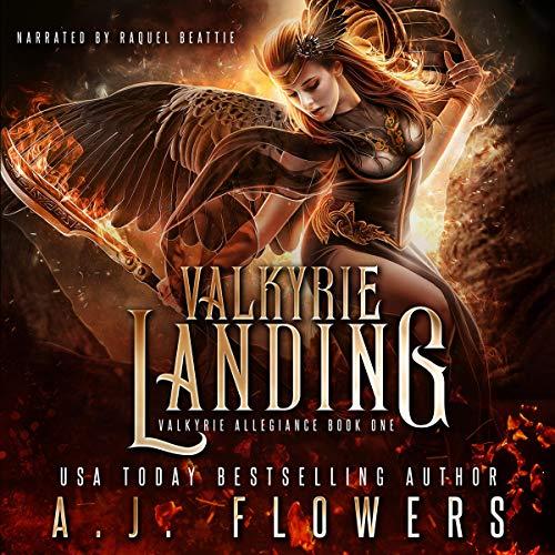 Valkyrie Landing (YA Fantasy Romance) audiobook cover art