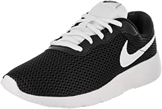 Nike 818381-017: Tanjun Boys Black/White Sneaker (6 M US)