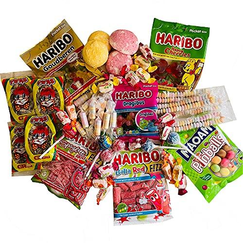 Box à bonbons - assortiment de bonbons - 59 pièces