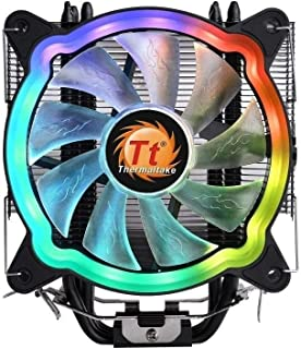 Thermaltake CL-P065-AL12SW-A UX200 5V Motherboard ARGB Sync 16.8 Million Colors 15 Addressable LED Intel/AMD Universal Soc...