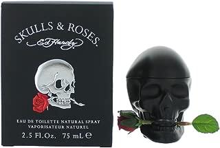 Êd Hárdÿ Skulls & Roses for Men Eau De Toilette Spray 2.5 oz