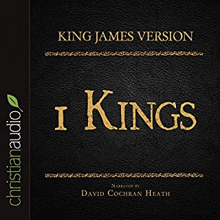Holy Bible in Audio - King James Version: 1 Kings cover art