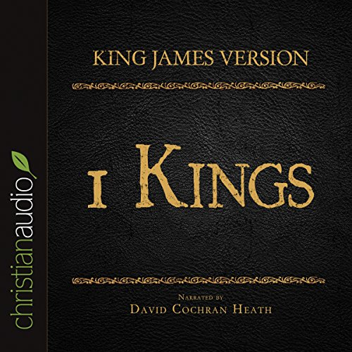 Holy Bible in Audio - King James Version: 1 Kings audiobook cover art
