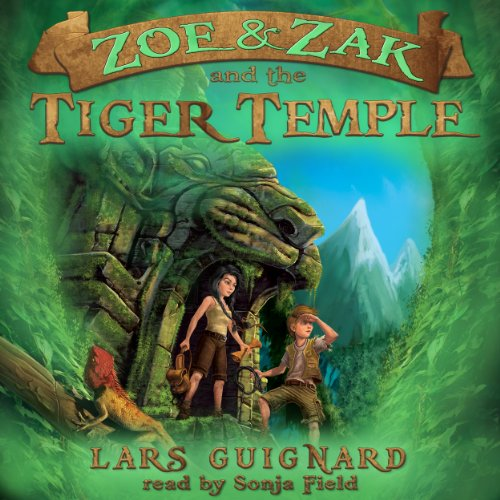Couverture de Zoe & Zak and the Tiger Temple