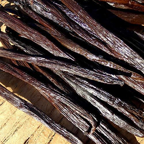 Baccelli di Vaniglia neri Tahitensis 20g / Qualità Premium 7 pezzi 14/15cm