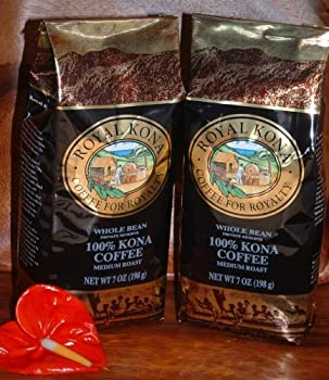 Royal Kona Private Reserve 100% Pure Kona Coffee Whole Bean