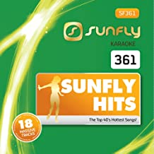 Sunfly Karaoke Hits Vol. 361 CDG/CD+G Disc